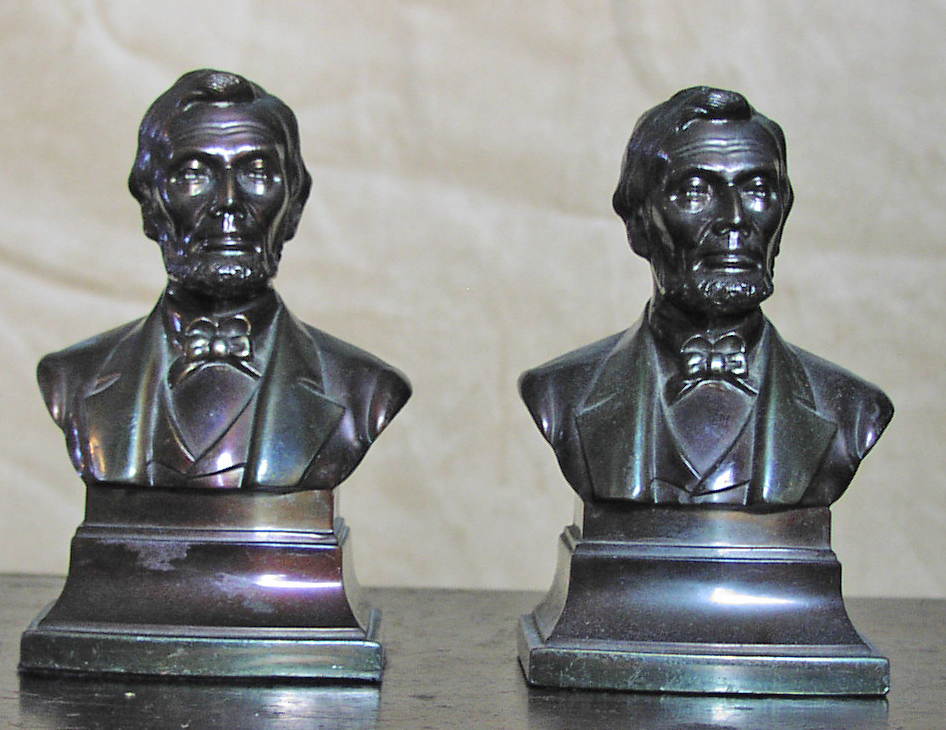 Image for Abraham Lincoln Bust Bookends