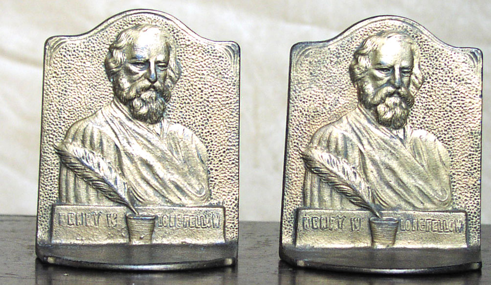 Image for Longfellow Bookends