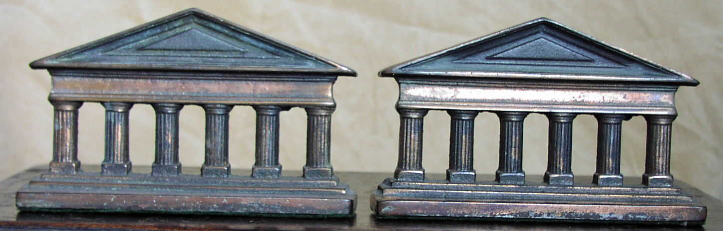 Image for Greek Columns Bookends