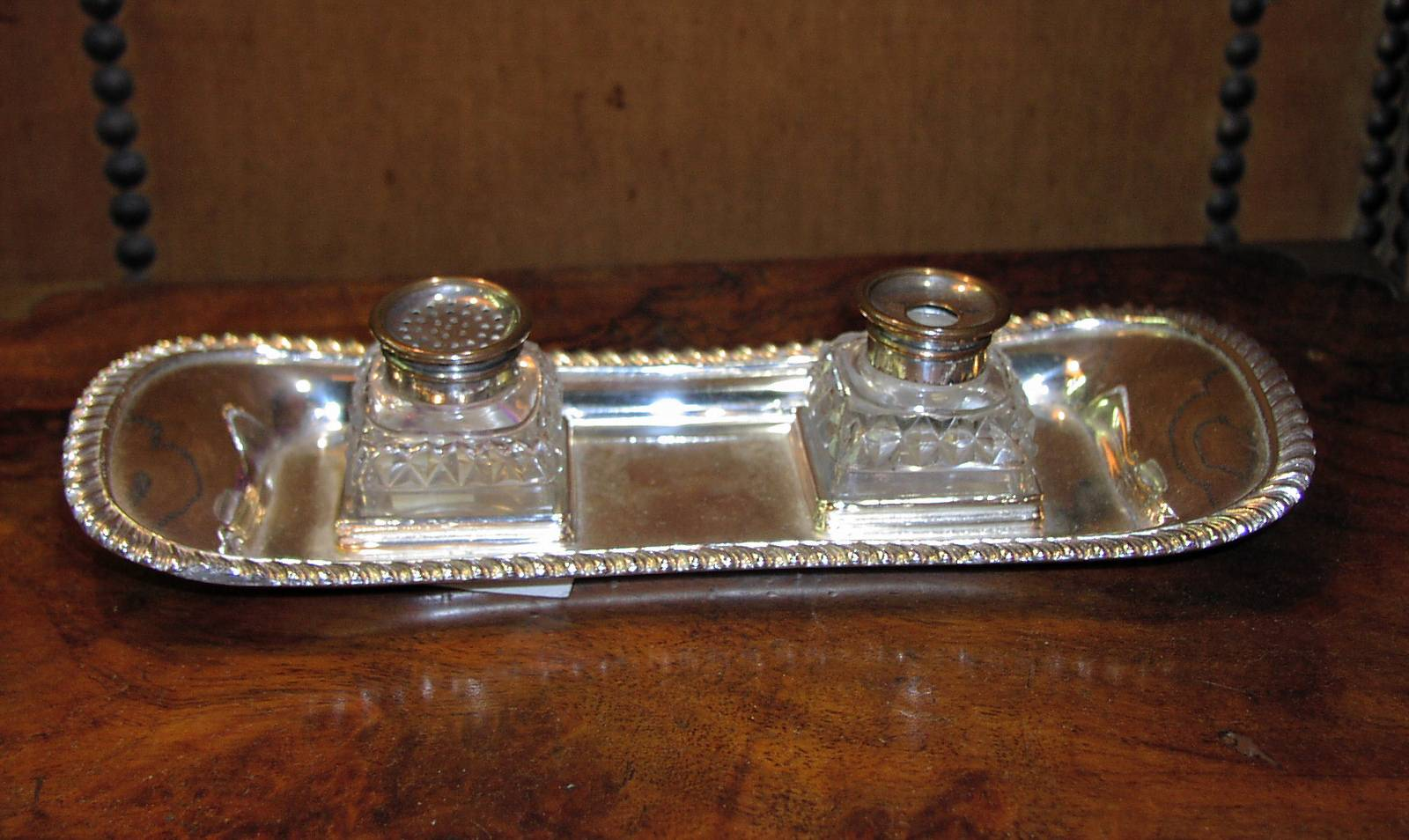 Image for Silver-plated Inkstand