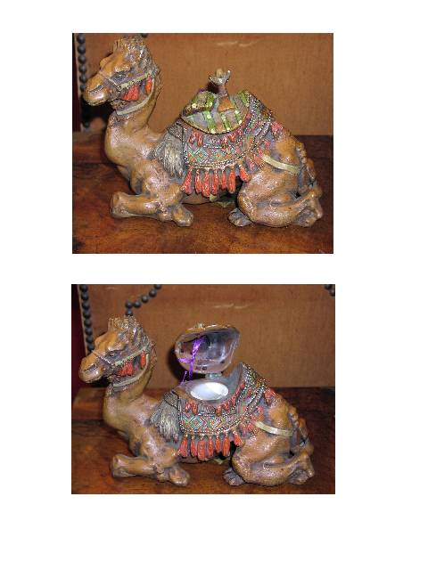 Image for Camel Figural Inkwell