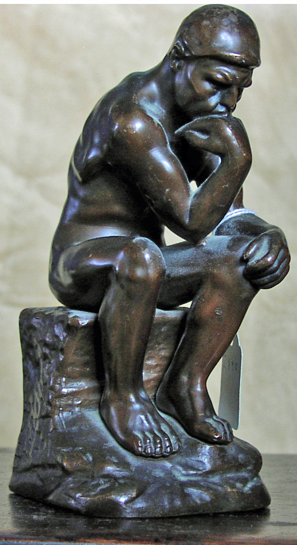 "Image for ""The Thinker"" Bookend (Single)"