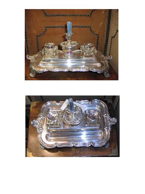 Image for Double Inkstand with Candle