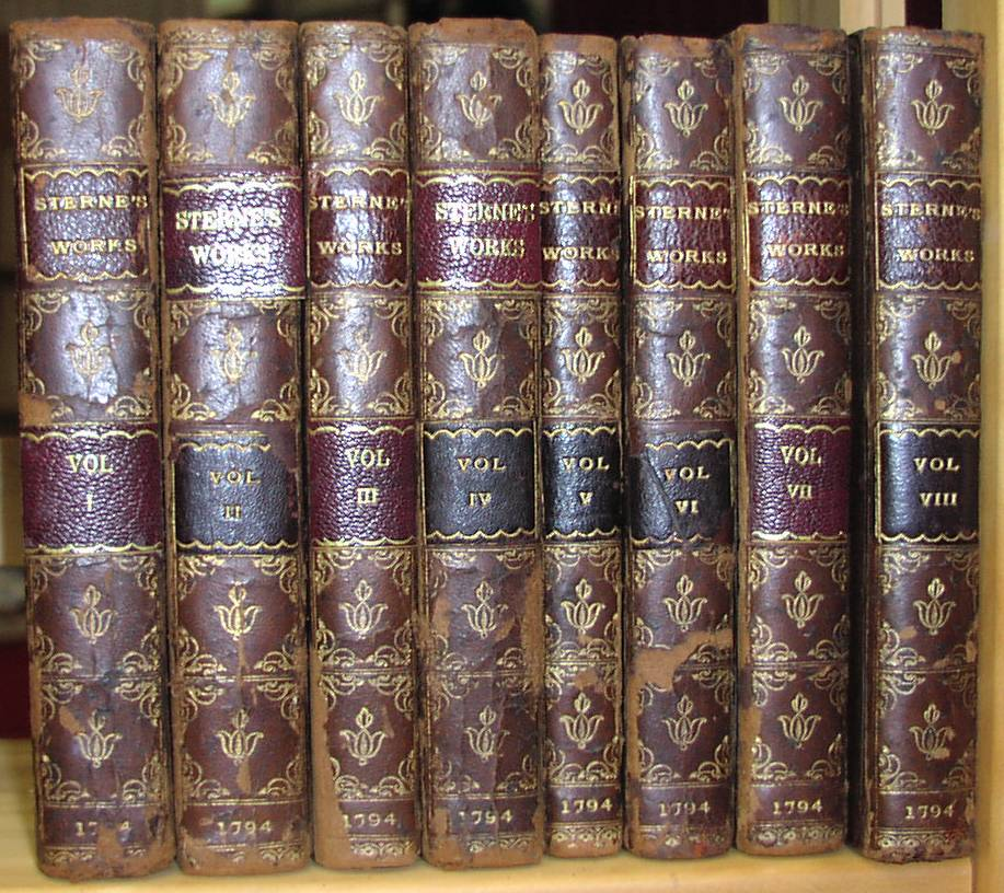 Image for Works of Laurence Sterne Complete in 8 Volumes