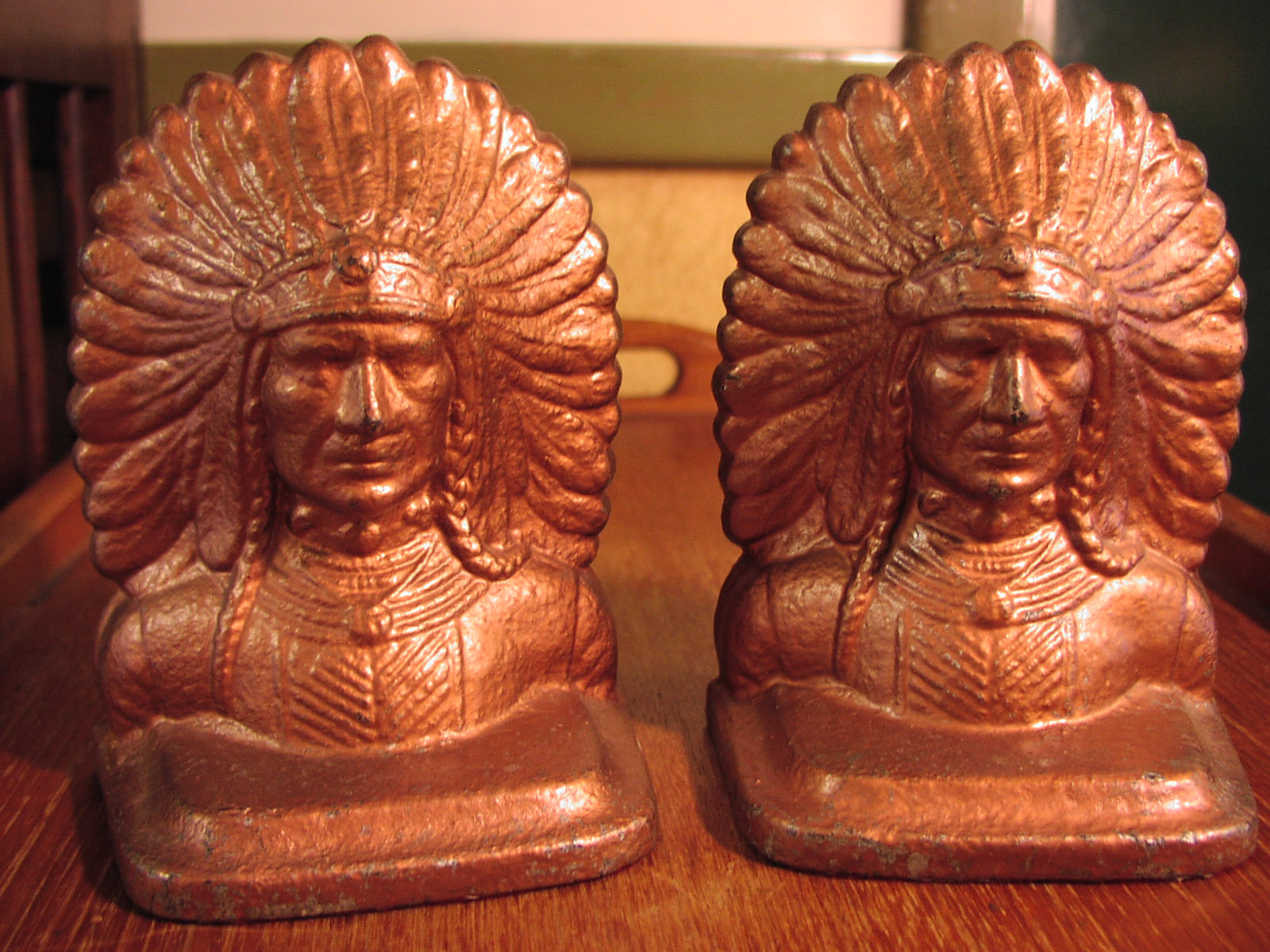 Image for Indian Chief Bookends