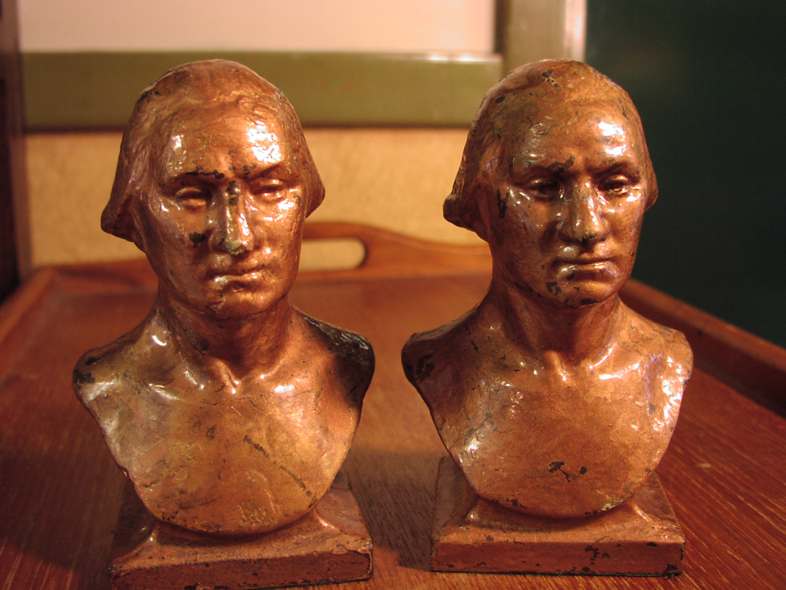 "Image for ""George Washington"" Bookends"