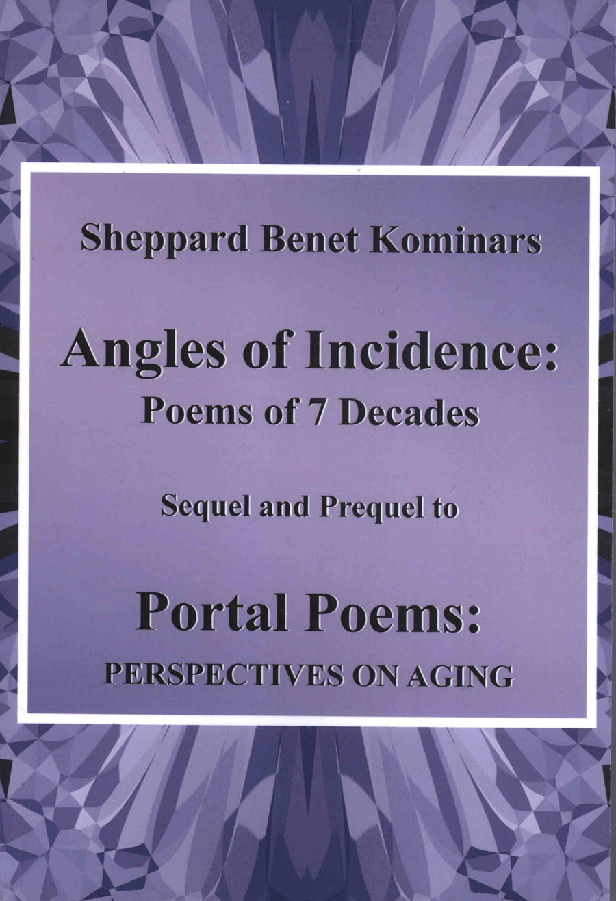 Image for Angles of Incidence Poems of 7 Decades