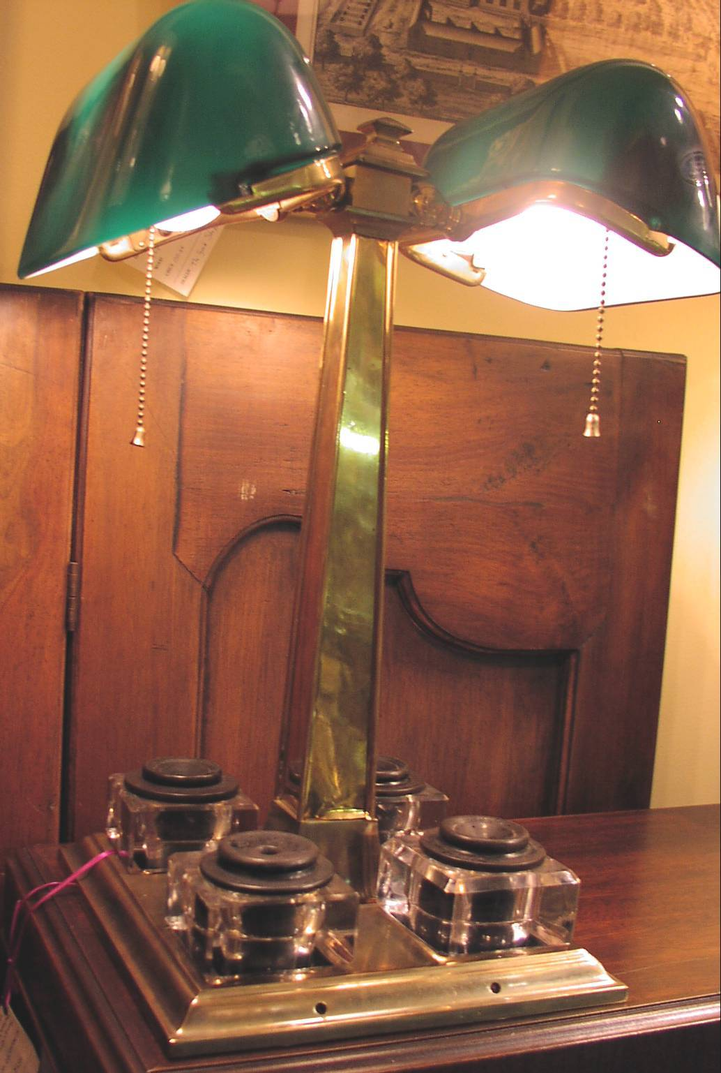 Image for Double Emeralite Partners Lamp