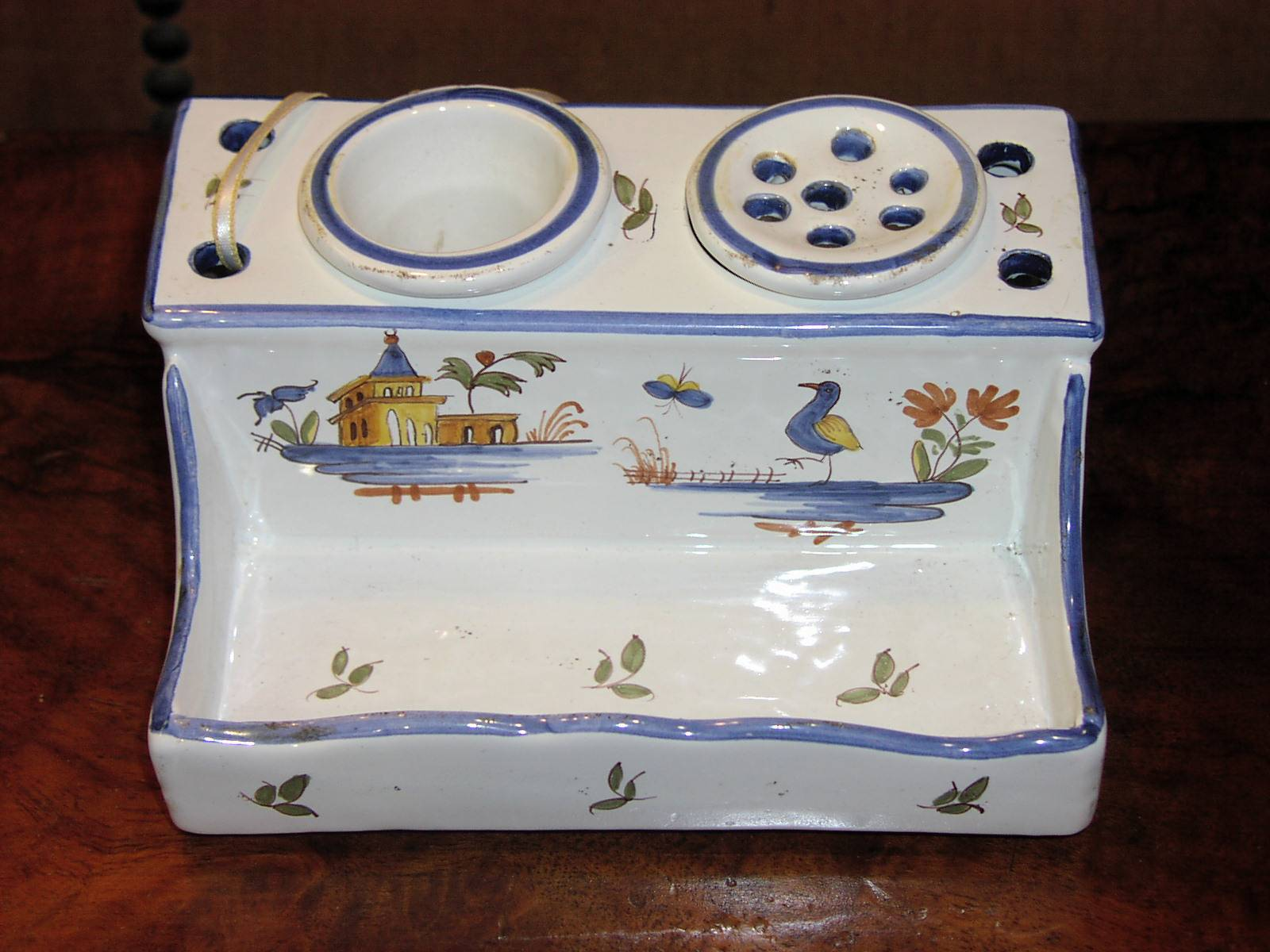 Image for Faience Inkstand