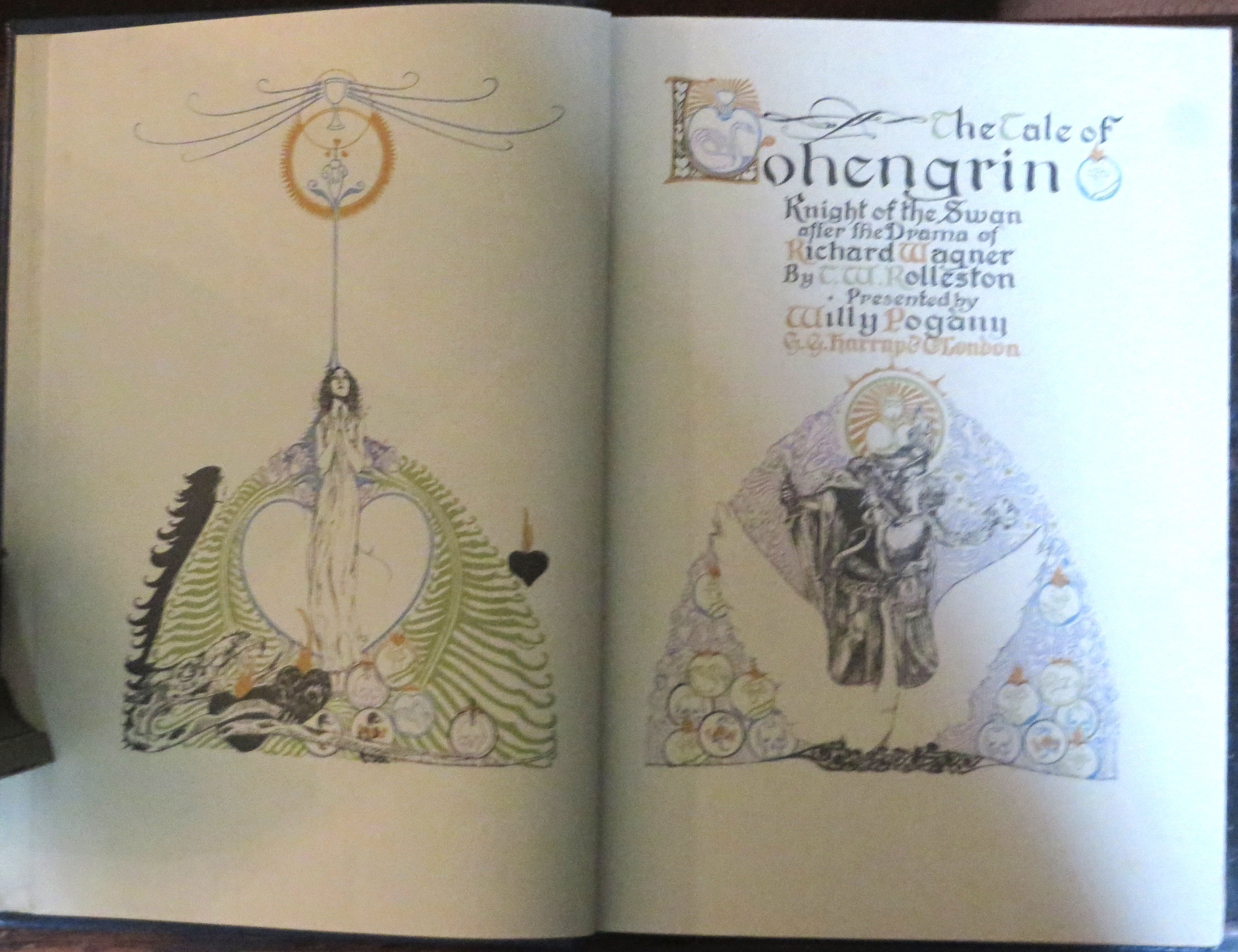 Image for Lohengrin Knight of the Swan, after Drama of Richard Wagner