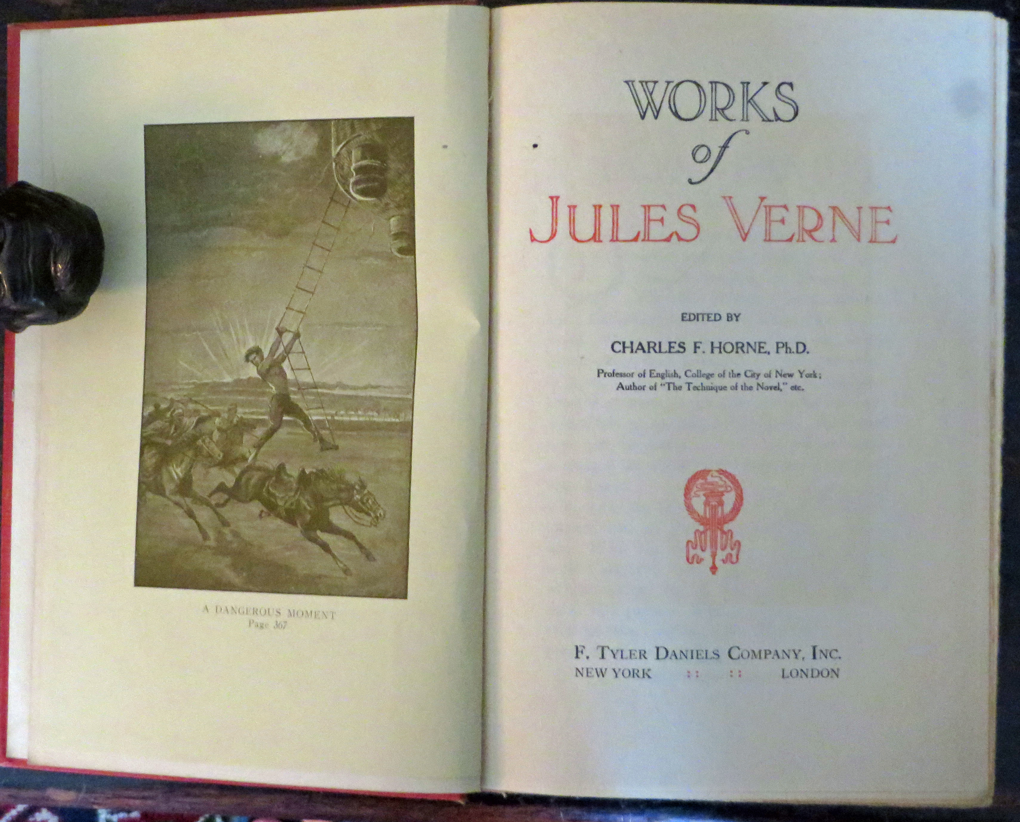Image for Works of Jules Verne