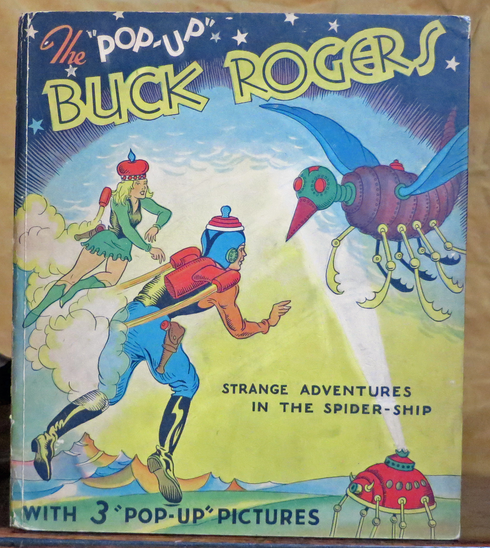 "Image for The ""Pop-Up"" Buck Rogers: Strange Adventures in the Spider Ship"