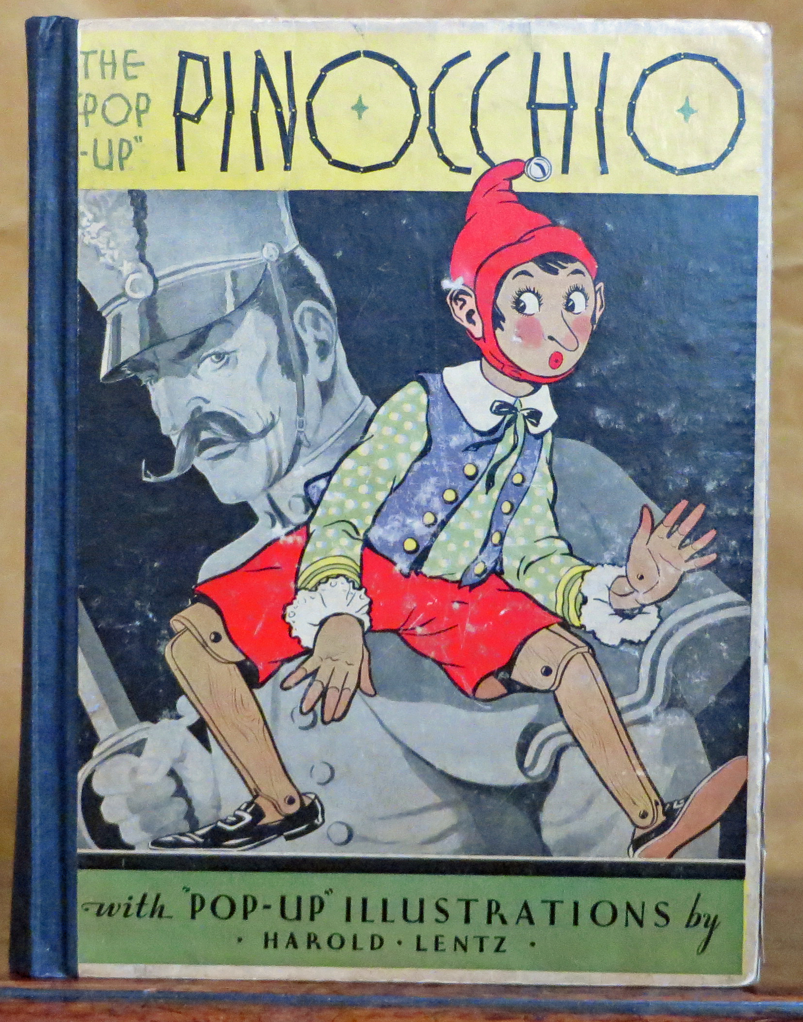 image for the pop up pinocchio